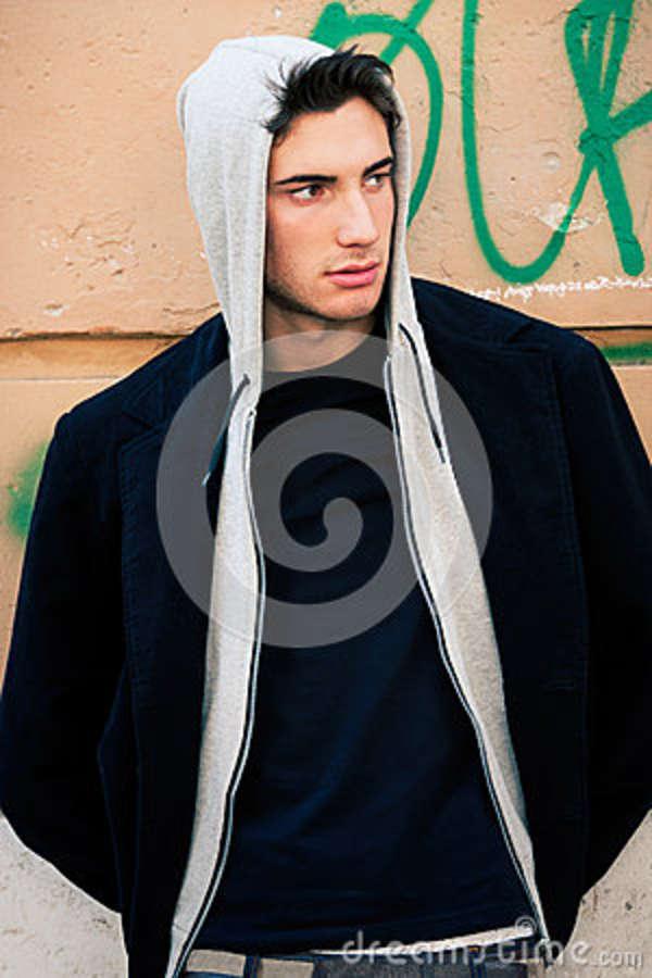 Ivan Fashion Italian Man Model Outdoors And Indoor