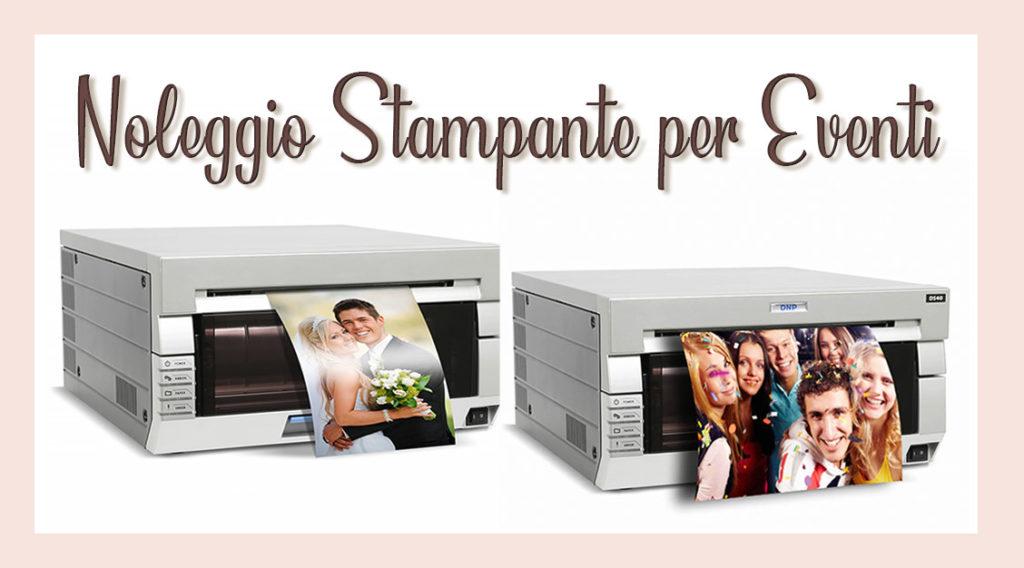 Noleggio stampanti a sublimazione termica per matrimoni ed eventi. Formato 15x20 oppure 10x15.