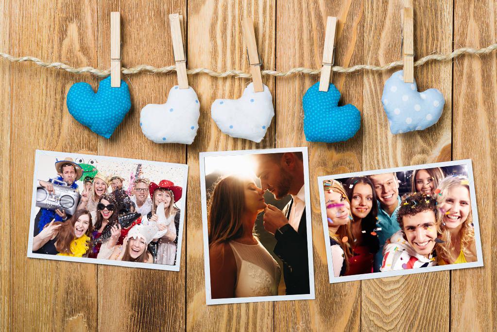 Foto istantanee matrimonio - Photobooth, stampa diretta