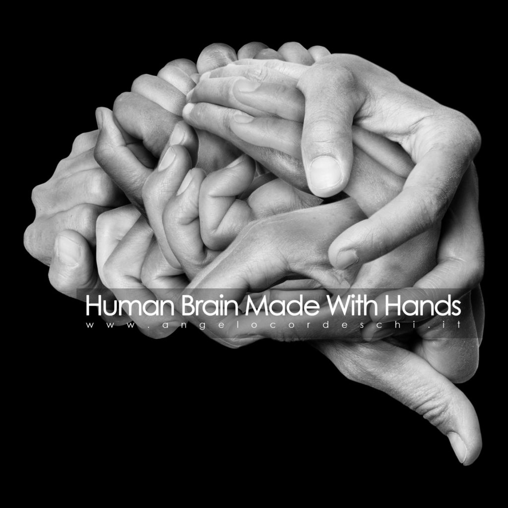 Human Brain Made With Hands Angelo Cordeschi