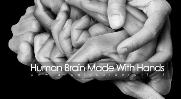 Human Brain Made With Hands Angelo Cordeschi