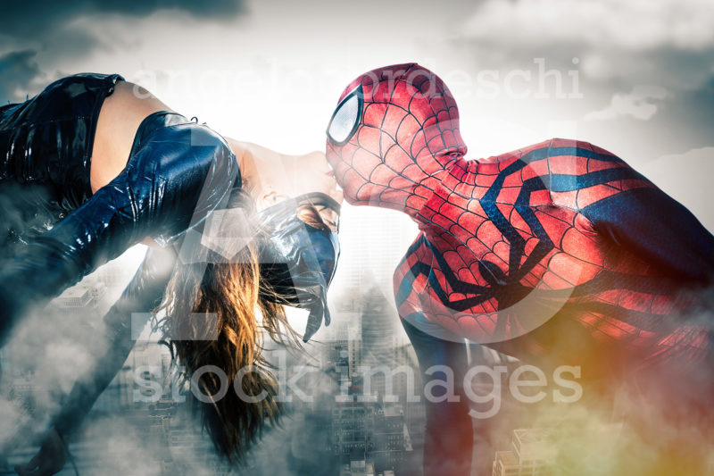 Spiderman Catwoman New York