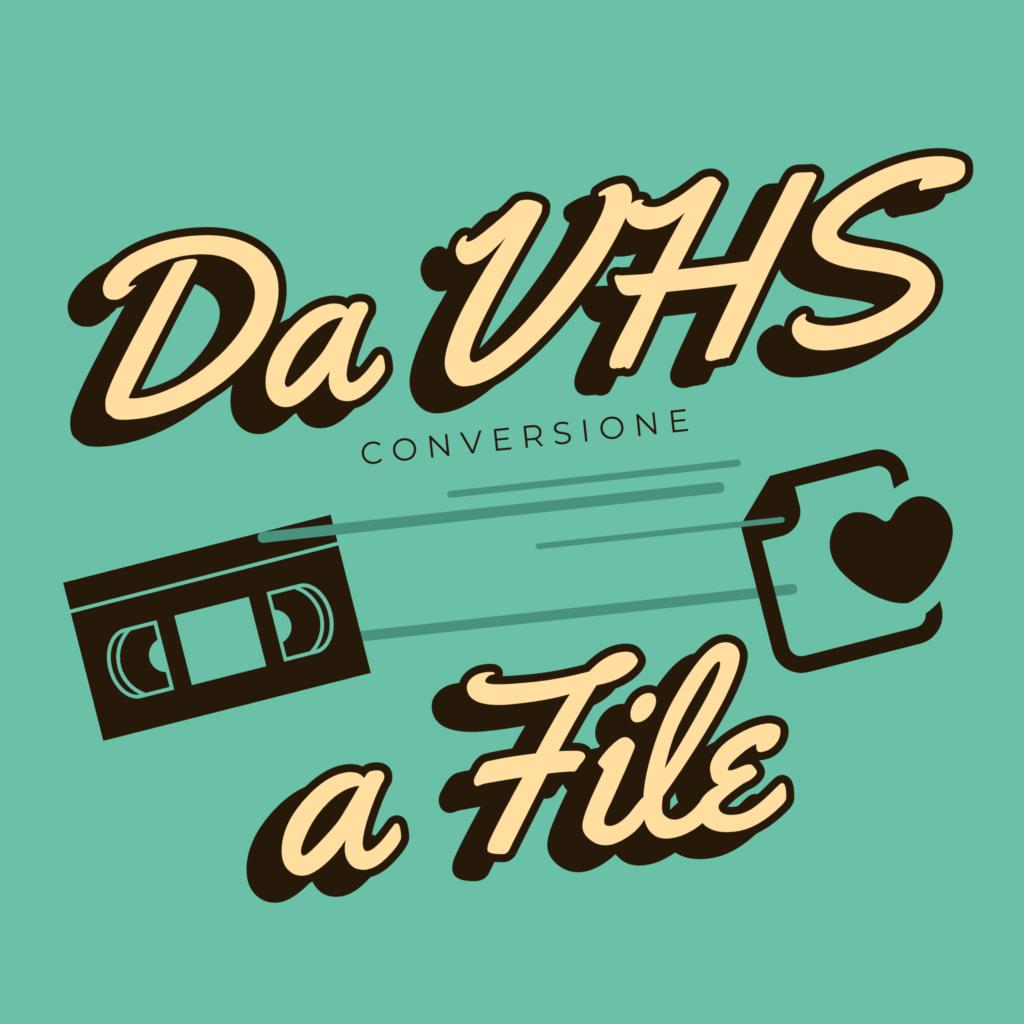 Conversione videocassette VHS a file Mp4