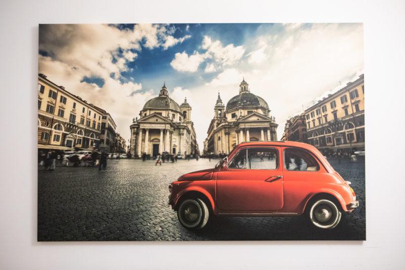 Fiat 500 Cinquecento a Piazza Del Popolo