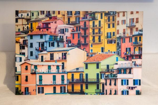 Stampa su tela 120 x 80 cm. Manarola Cinque Terre, Liguria. Italia