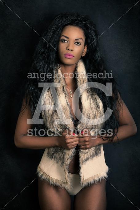 African Black Model Woman, Sexy Young Female. Beautiful Black Mo Angelo Cordeschi