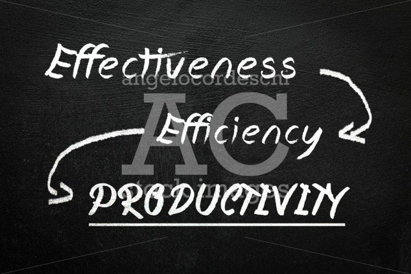 Blackboard with text effectiveness, efficiency and productivity. - Angelo Cordeschi
