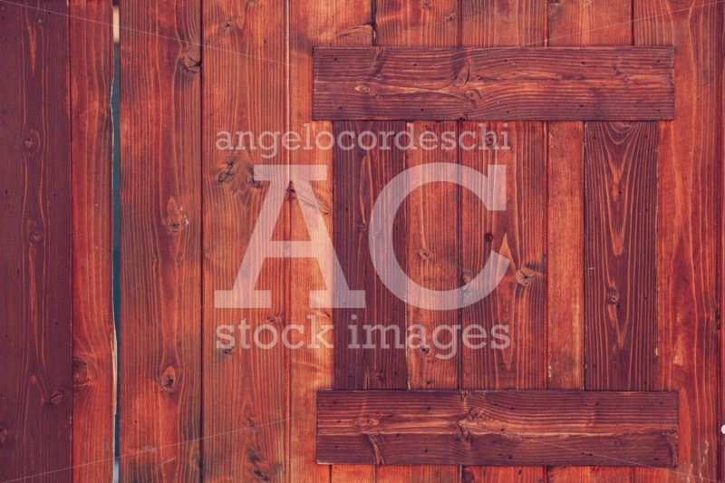 Dark Red Wooden Surface Background With Small Frame. Antique Woo Angelo Cordeschi