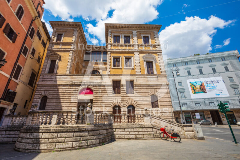 Exhibition museum building. Rome, Italy. - Angelo Cordeschi