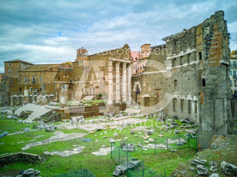 The Imperial Fora (Fori Imperiali In Italian), Monumental Fora ( Angelo Cordeschi