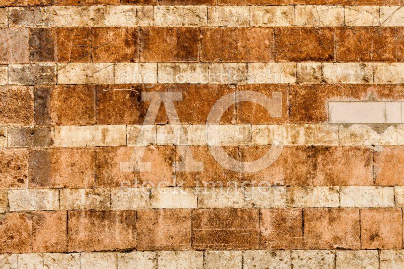Wall Made Of Orange Bricks. Angelo Cordeschi