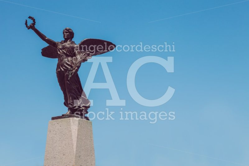 Winged Victory Statue. Monument To The War Dead Of The First Wor Angelo Cordeschi